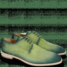 Derby schoenen Ryan 3 Suede Pattini New Grass Shade Pine
