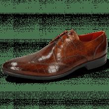 Derby schoenen Toni 2  Crock Wood Lining Red Modica Navy