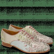Oxford schoenen Selina 4 Textile Victoria Rose Sand