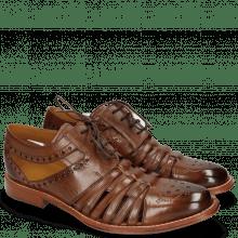 Derby schoenen Phil 14 Mid Brown LS