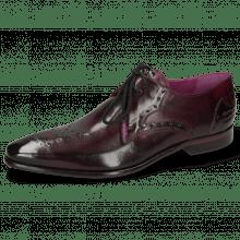 Derby schoenen Elvis 1 Viola Lining