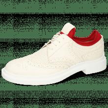 Derby schoenen Ron 2 Perfo White Flex