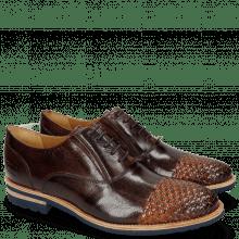 Oxford schoenen Brad 8 Mogano Interlaced Winter Orange