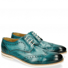 Derby schoenen Scott 2 Washed Turquoise