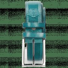 Riemen Larry 1 Turquoise Classic Buckle