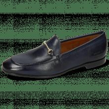 Loafers Scarlett 22 Monza Navy Trim Gold