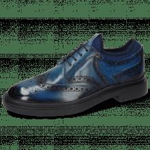 Derby schoenen Ron 2 Mid Blue Shade Navy