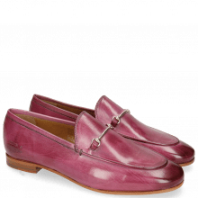 Loafers Scarlett 1 Fuxia Trim Gold