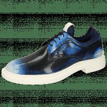 Derby schoenen Ron 1 Brush Off Perfo Multi