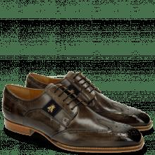 Derby schoenen Woody 6 Smoke Strap Suede Navy Bee