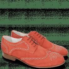 Derby schoenen Sally 53  Parma Suede Tibet