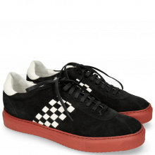 Sneakers Harvey 7 Lima Black Backstrap White