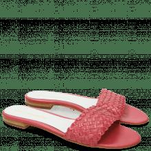 Muiltjes Hanna 26 Woven Hot Pink White