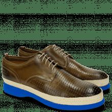 Derby schoenen Elia 1 Perfo Square Oxygen
