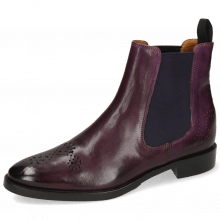 Enkellaarzen Betty 1 Viola Elastic Purple