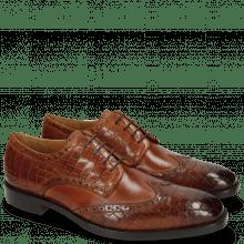 Derby schoenen Jeff 1 Crock Tan