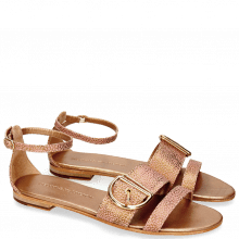 Sandalen Hanna 35 Grafi Bronze Buckle Gold
