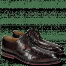Derby schoenen Marvin 19 Turtle Dark Black