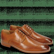 Derby schoenen Alex 1 Venice Pebble Tan
