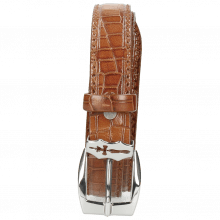 Riemen Linda 1 Crock Tan Sword Buckle