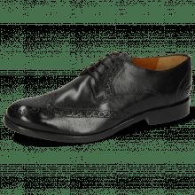 Derby schoenen Amelie 3 Imola Black Lining Rich Tan