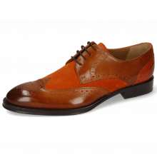 Derby schoenen Kane 5 Wood Suede Pattini Orange