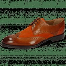 Derby schoenen Kane 5 Wood Suede Pattini Orange