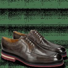 Derby schoenen Patrick 13 Milano Grigio Aspen Burgundy