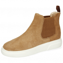 Enkellaarzen Hailey 2 Sheep Suede Camel