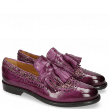 Loafers Selina 3 Eggplant Tex Pixel Fuxia
