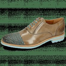 Oxford schoenen Brad 8 Classic Interlaced Grigio Turquoise