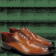 Oxford schoenen Toni 31 Mogano Tan
