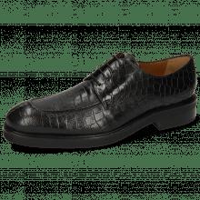 Derby schoenen Parker 1 Crock Black Lining Genevra