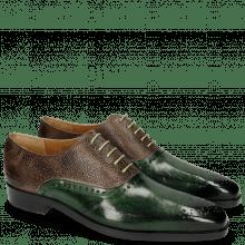 Oxford schoenen Lewis 41 Prato Scotch Grain New Taupe