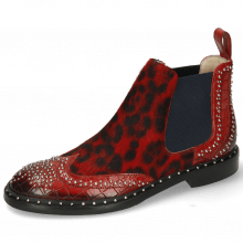 Enkellaarzen Sally 45 Crock Ruby Hairon Tanzania Red