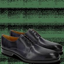 Derby schoenen Greg 4 Berlin Perfo Navy