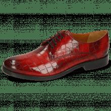 Derby schoenen Amelie 14 Crock Ruby Flex