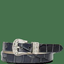 Armbanden Ines 1 Crock Navy Buckle Nickle