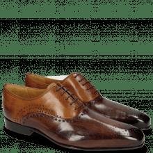 Oxford schoenen Lewis 41 Mogano Tan LS Thin Brown