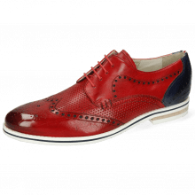 Derby schoenen Scott 2  Vegas Perfo Ruby Vegas Navy Strap