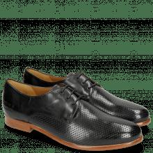Derby schoenen Selina 23 Perfo Black