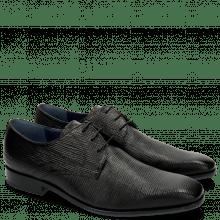 Derby schoenen Rico 1 Venice Haina Print 316 Black