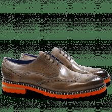 Derby schoenen Henry 13 Rope Aspen Orange