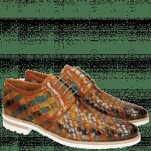Derby schoenen Brad 1 Woven Multi 1 Aspen