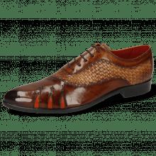Oxford schoenen Toni 44 Mesh Wood Sand Shade Brown