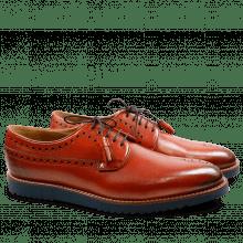 Derby schoenen Peter 2  Brilliant Crust Orange Goya Navy