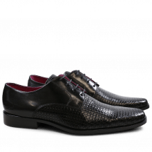 Derby schoenen Mark 1 Bubble Ecocalf Black New HRS