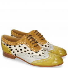 Oxford schoenen Sally 97 Vegas Olivine Digital Sand Hairon Wildcat