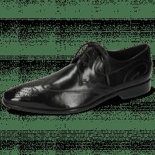 Derby schoenen Elvis 63 Black Tassel Black