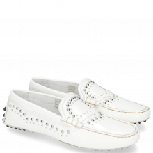 Loafers Caroline 6 Soft Patent White